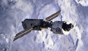 In 1998, the Zarya and Unity modules of the International Space Station were joined (Credits: NASA).