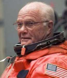 Currently, John Glenn at age 77 is the oldest individual to have traveled to space. That could soon change (Credits: NASA).