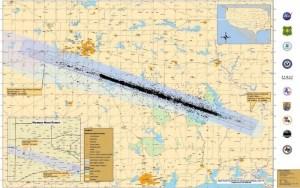 Columbia debris spread across 700,000 acres