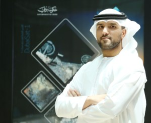 Engineer Amer Mohammed Al Sayegh, Senior Director of Space Systems Development Department at EIAST