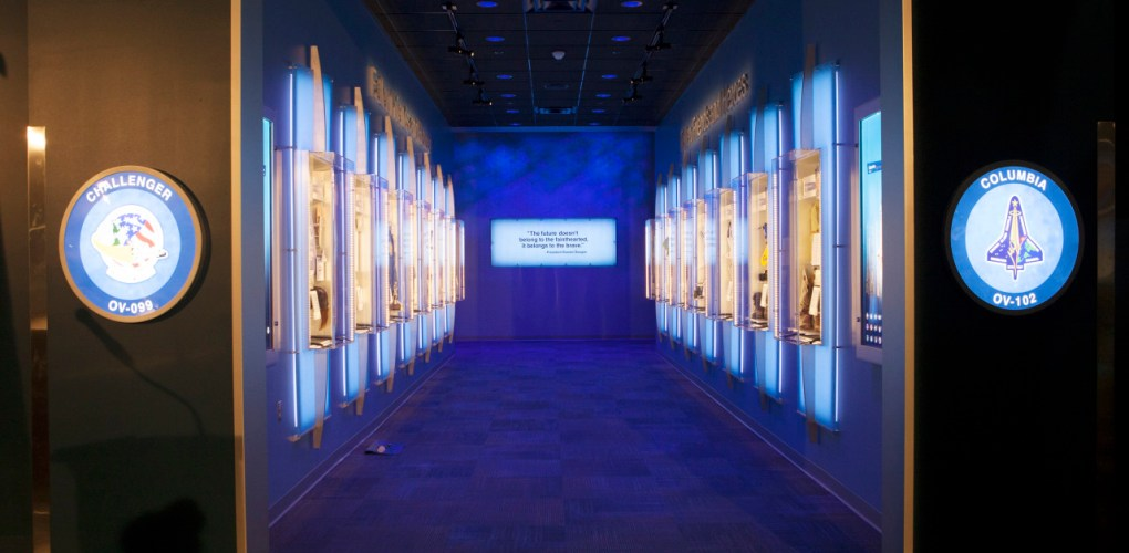 Forever Remembered Exhibit at KSC Visitor Complex. credit: NASA/Kim Shiflett