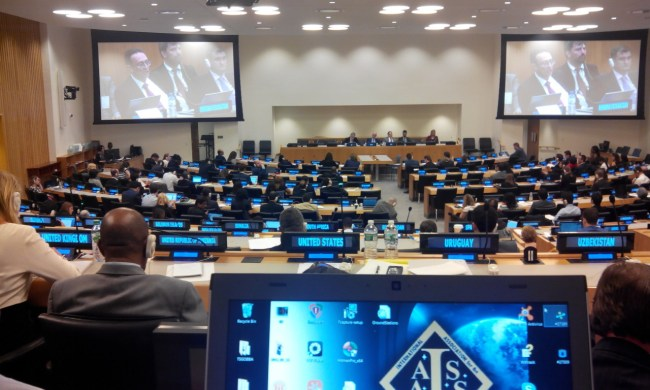 International Code of Conduct for Outer Space Operations, Multilateral Negotiation Meeting, 27-31 July 2015 credits:IAASS