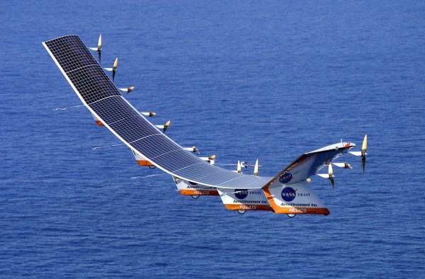NASA and AeroVironment's Helios in testing Credit: NASA