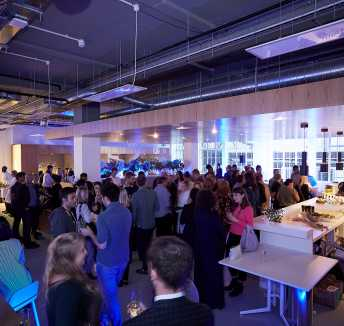 Spaces London Grand Opening