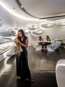 Roca London Gallery, Soak Stream Dream exhibition for 2016 Design Festival, designed by Zaha Hadid (14)
