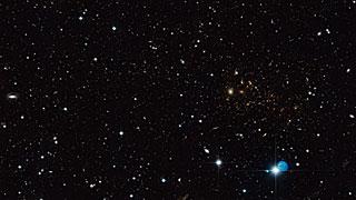 Hubble imagen de MACS J0717