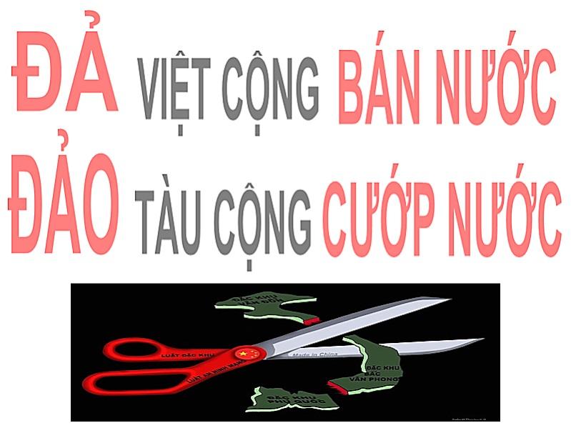 Image result for Chống Tàu cộng cướp nước chống VC bán nước