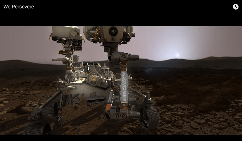 We Persevere: Mars 2020 Perseverance Rover Video