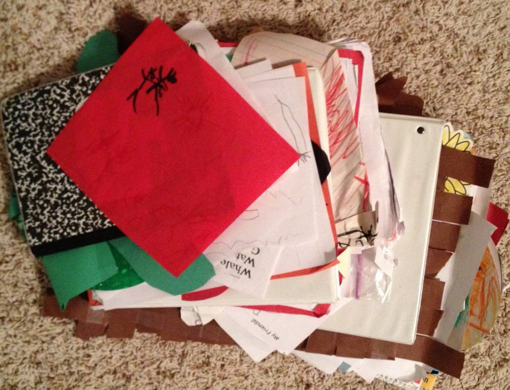 Organizing For Kids School Papers
