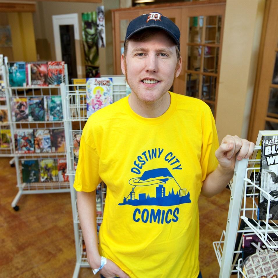 Michael Fitzgerald, Destiny City Comics