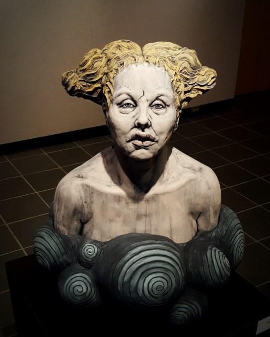 """Heather Cornelius, """"Undine"""", Ceramic (2016)"""
