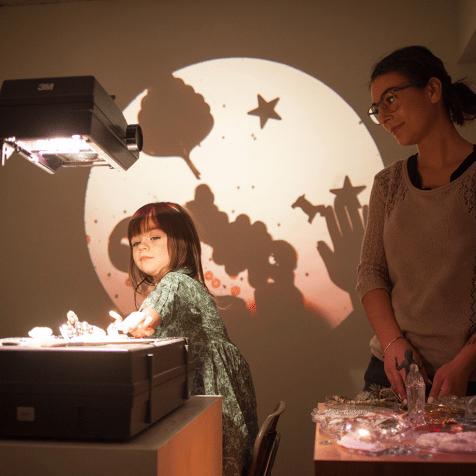 950 Gallery Moon Moan exhibit