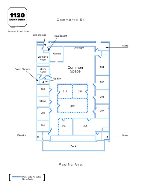 1120 Downtown Floor Plan