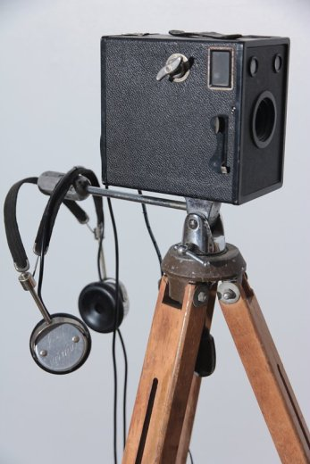 Point 'n Listen Andy Behrle found objects, headphones, electronics 2016