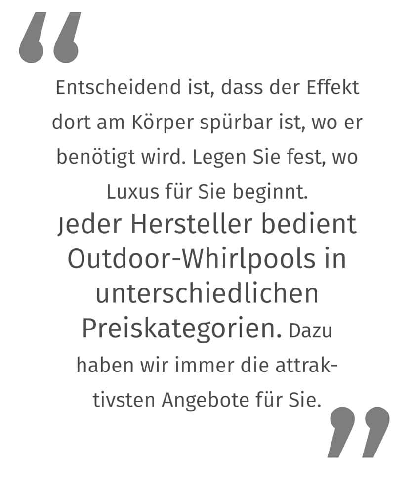 Was Kostet Ein Outdoor Whirlpool?
