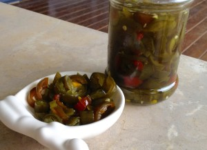 cowboy candy: sweet pickled jalapeño slices