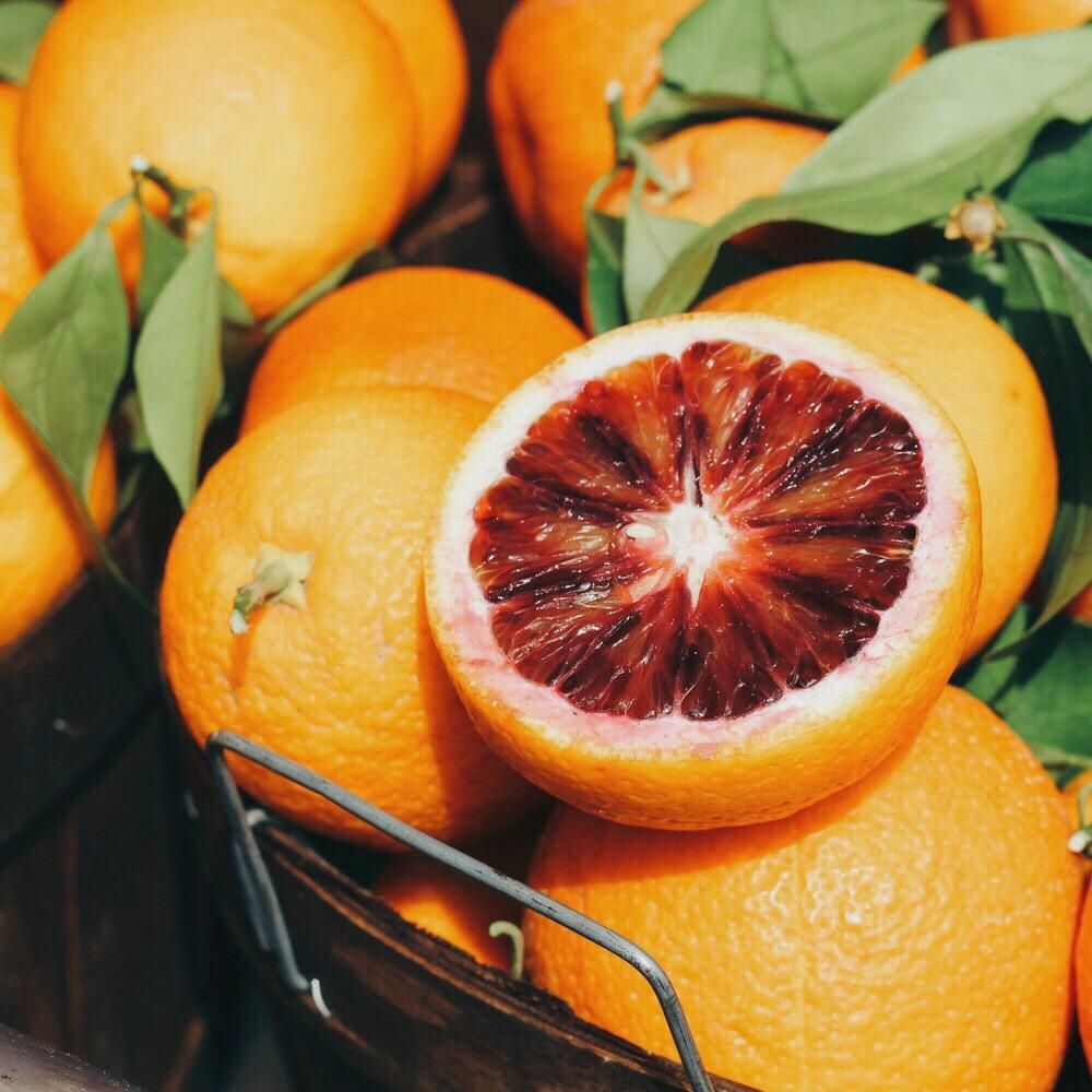 blood oranges.