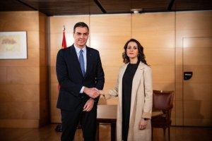 Pedro Sánchez and Inés Arrimadas