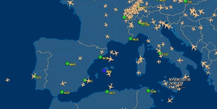 スペイン フライト