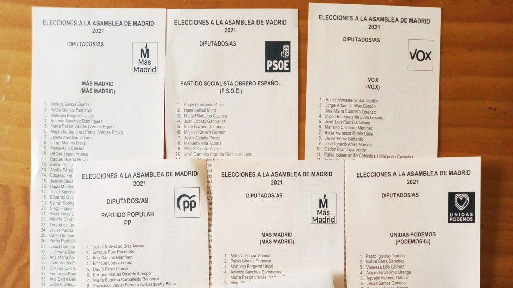 2021年マドリード州議会選