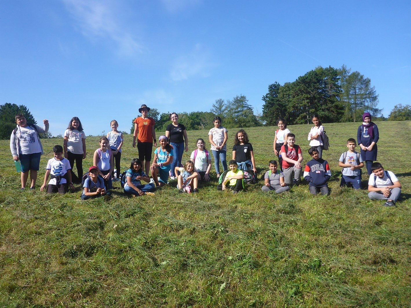 Kennenlernprojekt: 1c unterwegs in der Natur