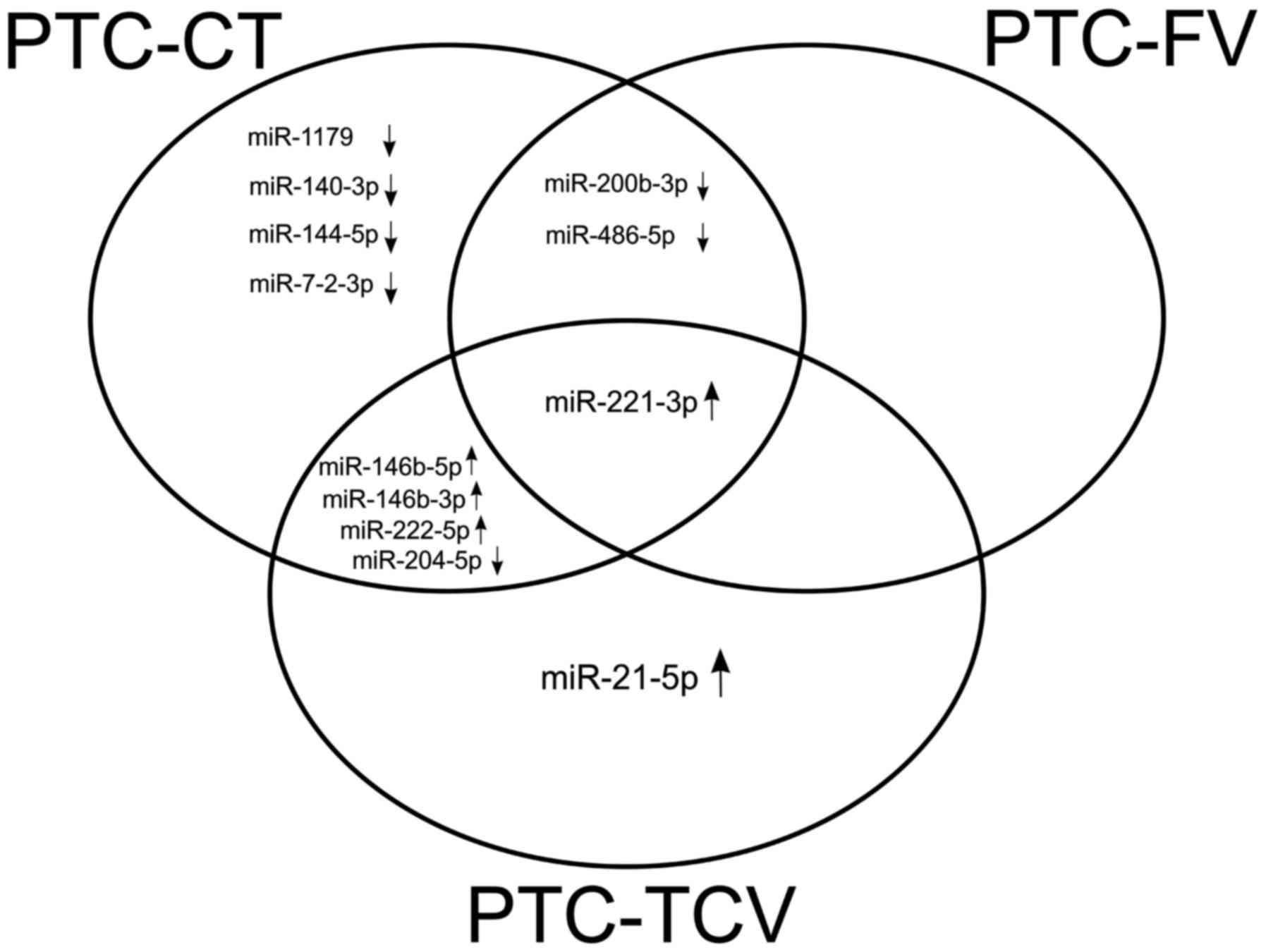 Microrna Based Molecular Classification Of Papillary