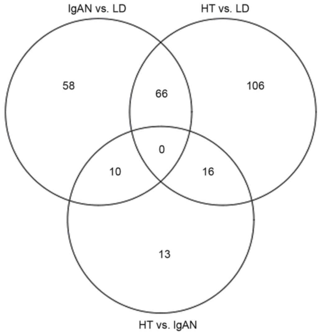 Identification Of Potential Biomarkers And The Utic
