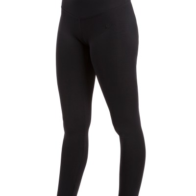 Wide Band Legging-Black