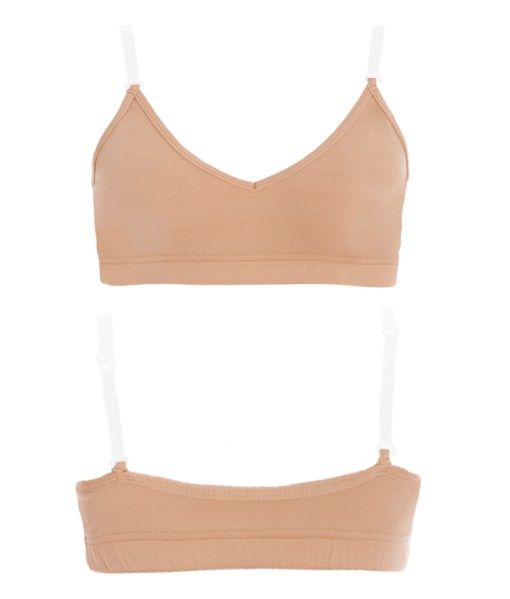 Convertible Bra Top-Flesh