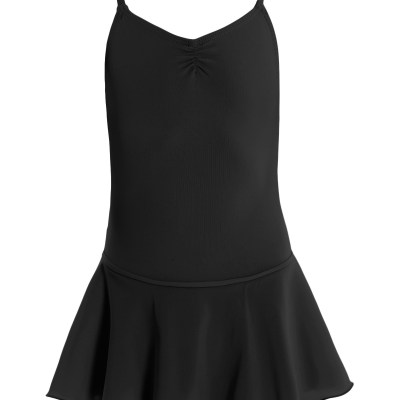 Leotard with Skirt-Black