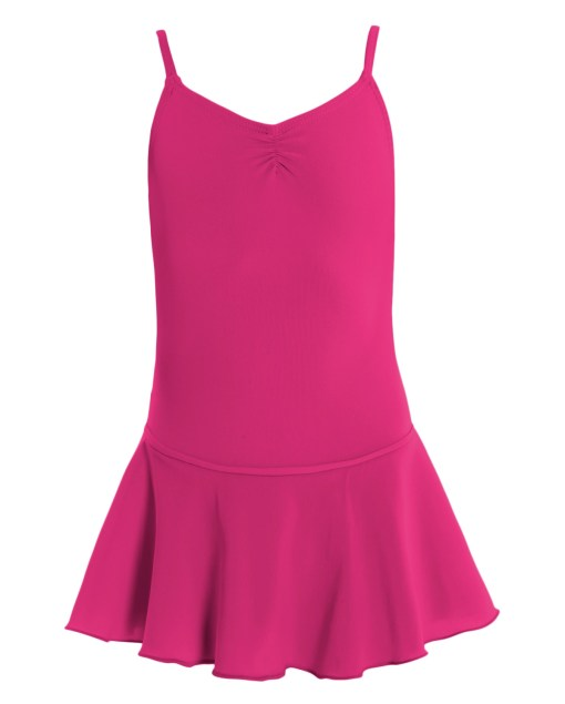 Leotard with Skirt-Mulberry