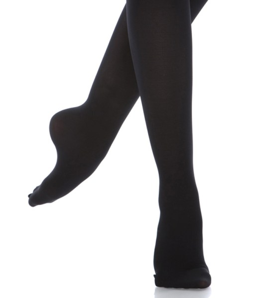 Classic Footed Dance Tight-Black