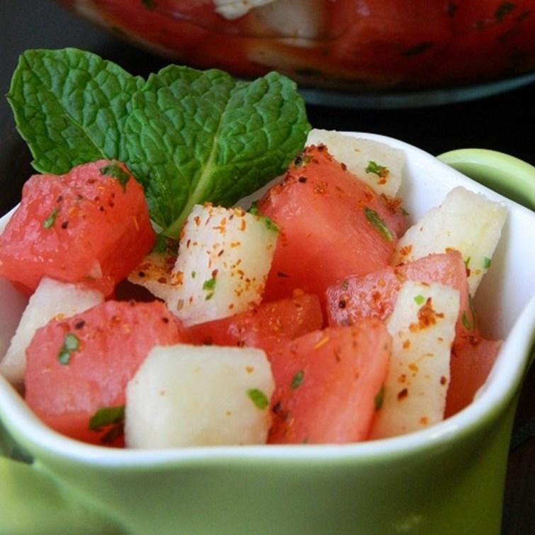 Watermelon Jicama Salad