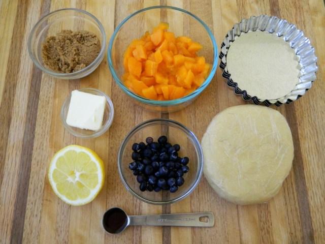 Mini Apricot Tart & A Breakfast Quiche