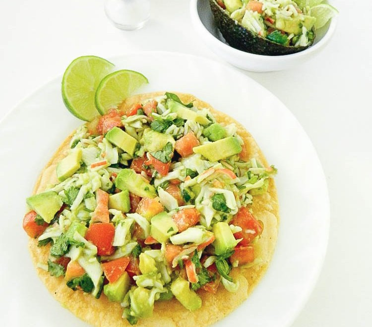 Crab Tostadas with Avocados From Mexico #ILoveAvocados