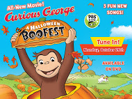 A Curious George Halloween PBS Special Premiere