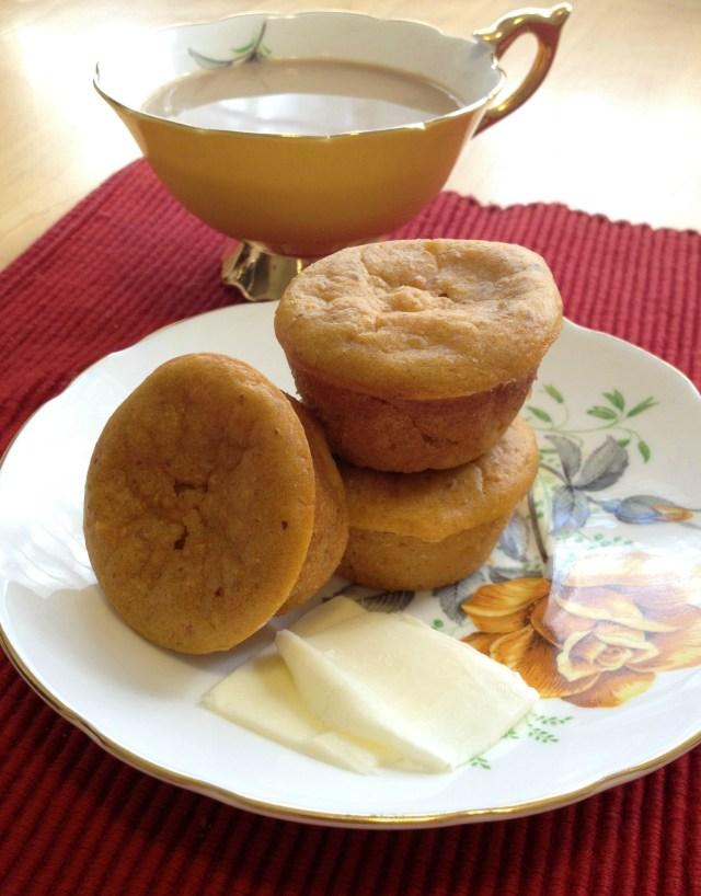 Sweet Potato Mini Muffins