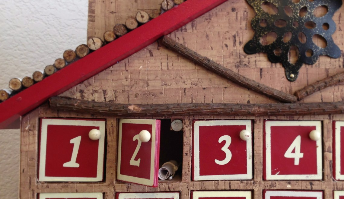 Daily Advent Calendar Activities for 2013