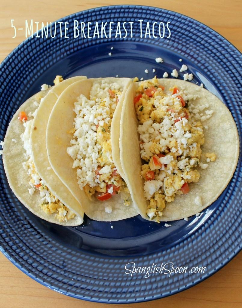 5-Minute Breakfast Tacos