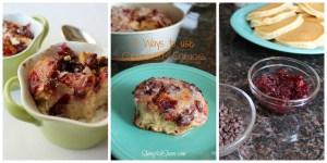 Cranberry recipes 3 ways to use cranberry sauce
