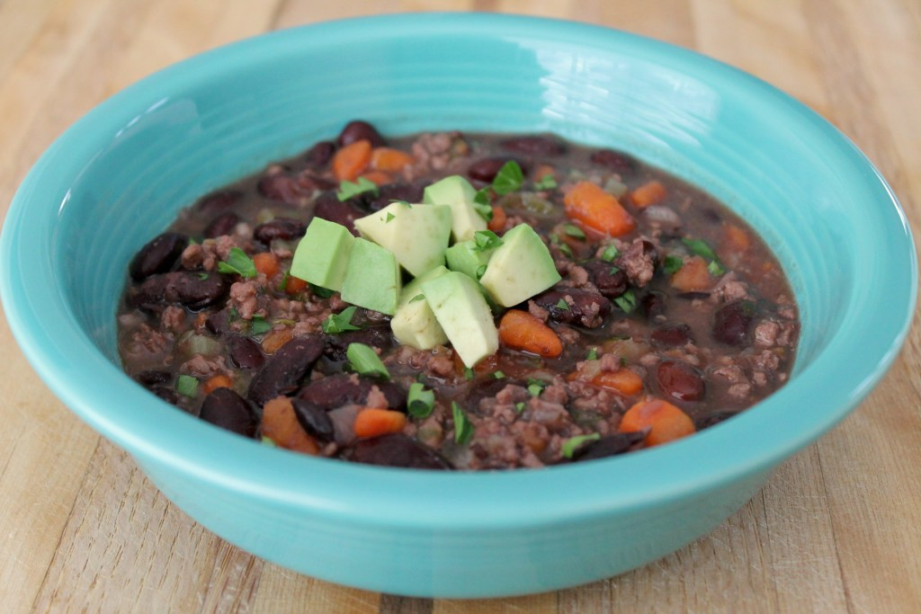 Turkey and kidney bean soup