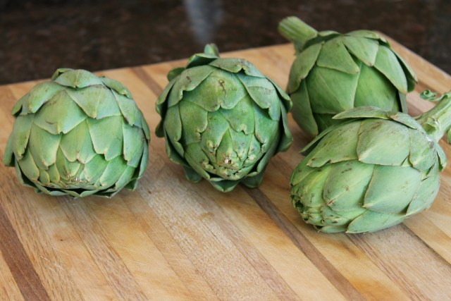 Artichokes and Breadcrumbs 1