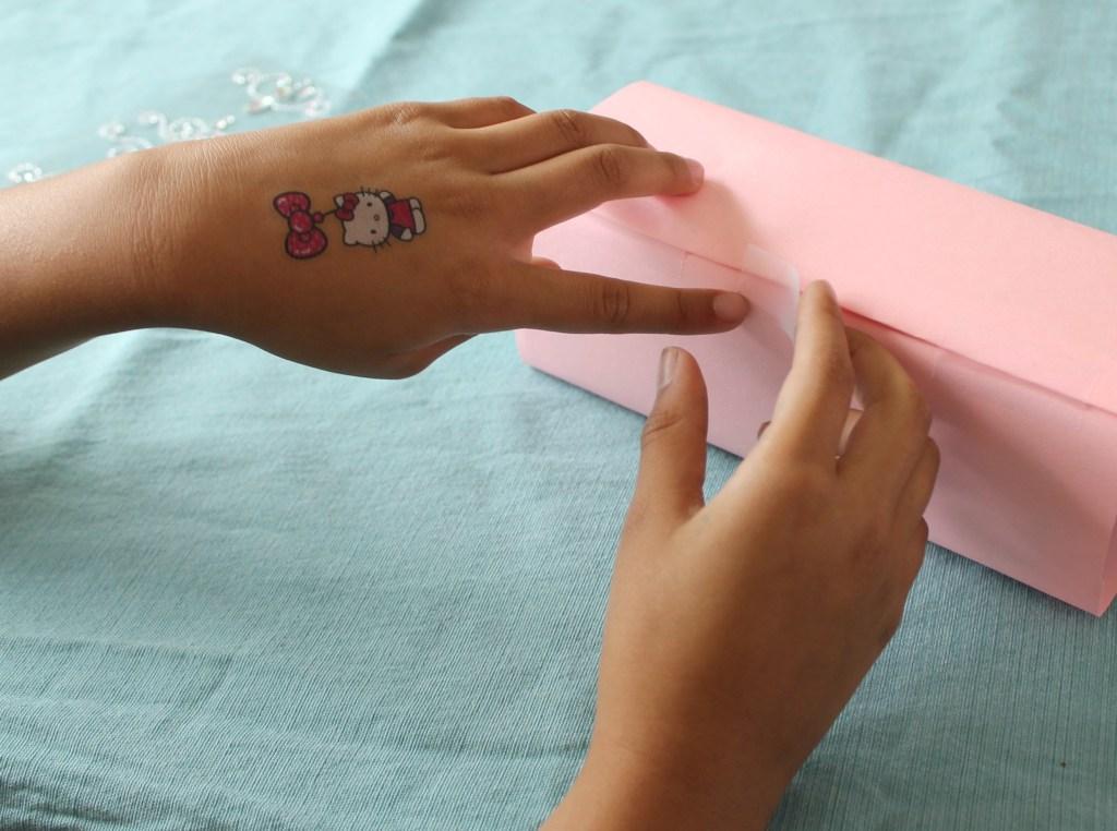 DIY Milk Carton Dollhouse slide 12