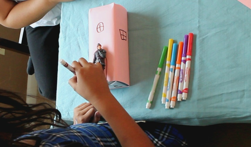 DIY Milk Carton Dollhouse slide 13