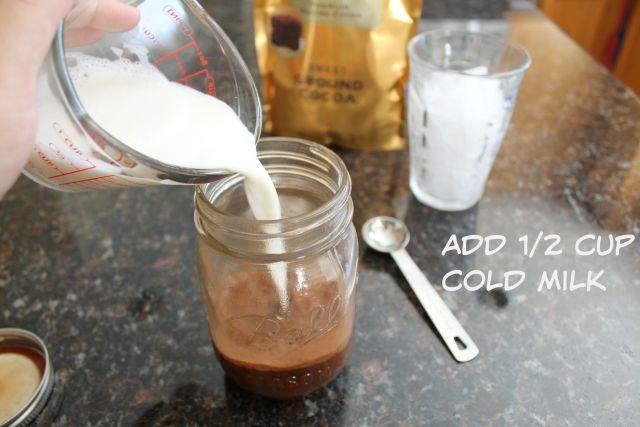 2 minute iced mocha coffee 6
