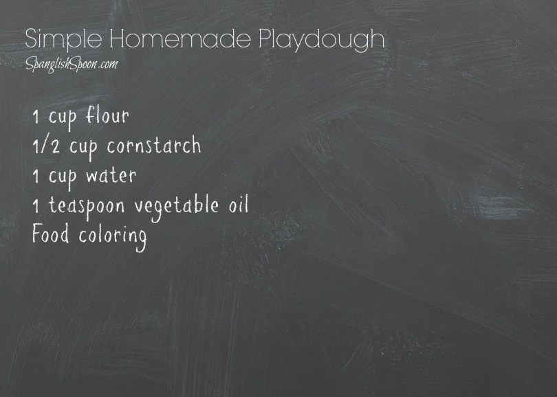 Simple Homemade Playdough 3