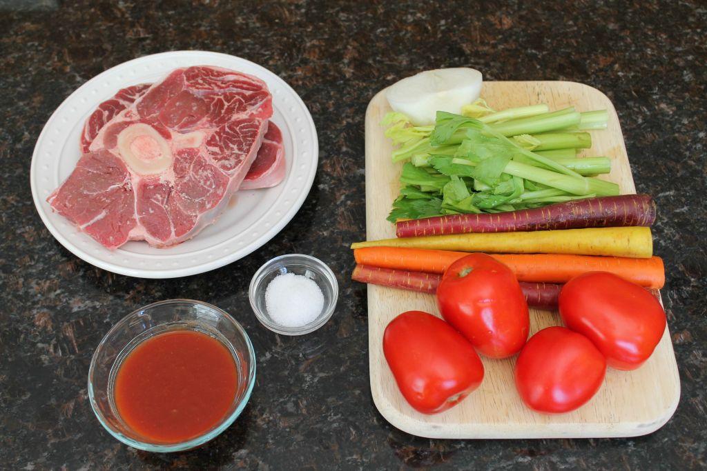 Slow Cooker Beef Shank Stew