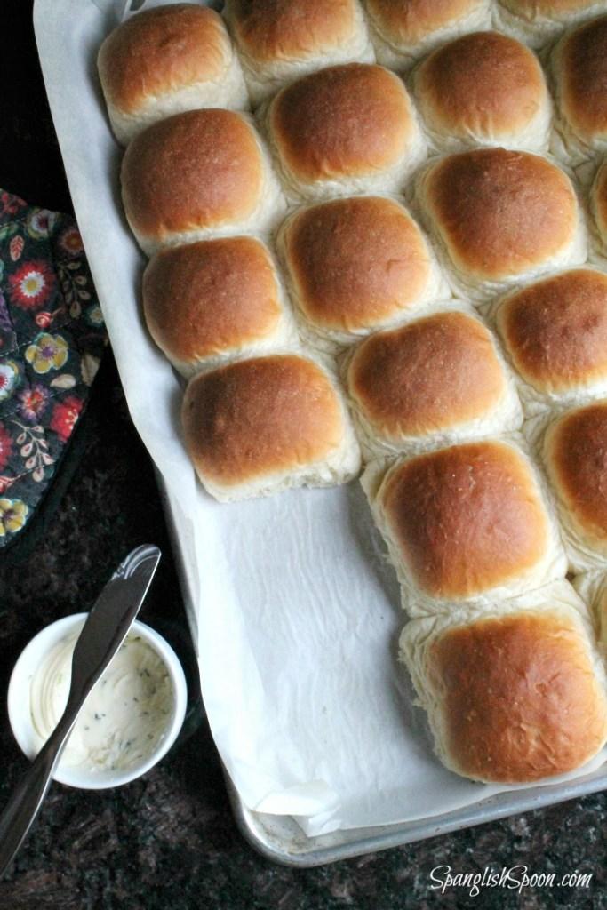 Homemade Butter Rolls 15