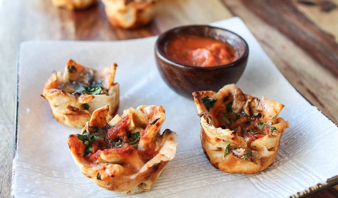 Veggie Pizza Cups