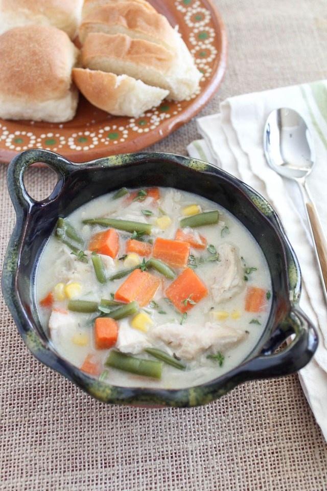 Turkey and Vegetable Chowder